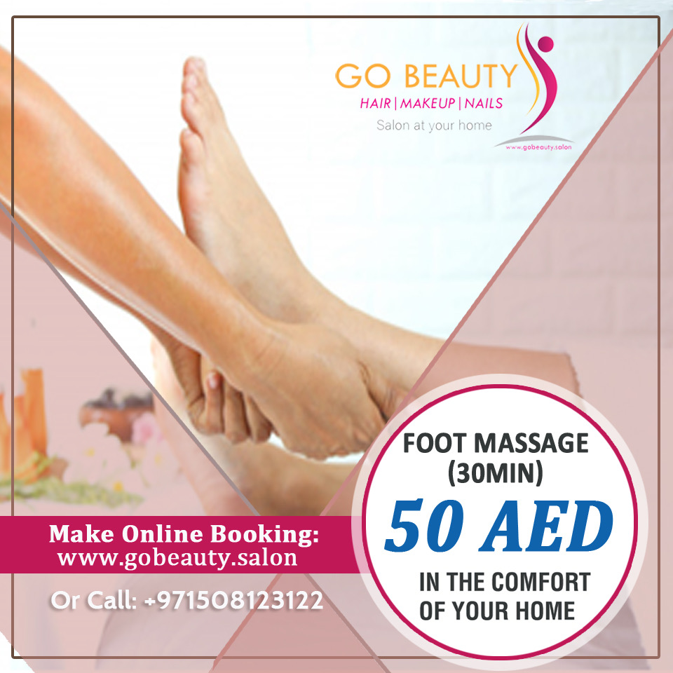 Foot massage at home in Dubai