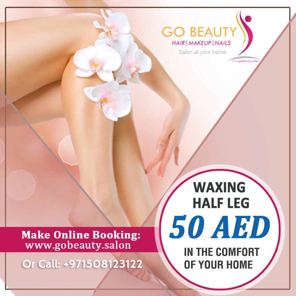 waxing services at home in Dubai