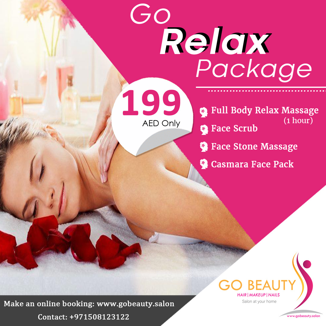 Body Relax massage at home